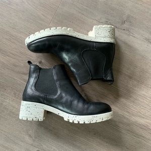 Urban outfitters leather boots 7